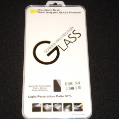 Folie de Sticla Protectie ecran Tempered Glass Samsung Galaxy S4