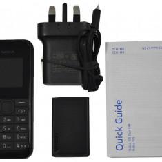 Nokia 105 (2015) Dual Sim Black - Telefon Nokia