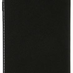 Husa tip carte Leagoo negru + alb pentru telefon Leagoo Alfa 5 - Husa Telefon Alcatel