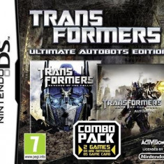 Transformers Ultimate Autobots Edition Nintendo Ds - Jocuri Nintendo DS Activision