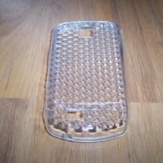 Husa silicon transparenta pentru telefon Samsung Galaxy Mini S5570 - Husa Telefon