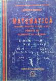 MATEMATICA MANUAL PENTRU CLASA A XII-a M1- ELEMENTE DE ALGEBRA -Mircea Ganga, Clasa 12, Mathpress, mast