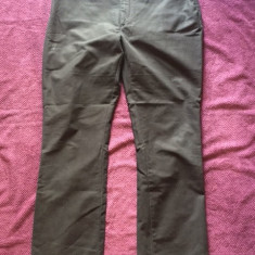 Pantaloni dama ZARA, mas. 44, Culoare: Negru, Lungi, Bumbac