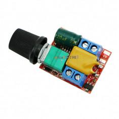 Mini DC 5A Motor PWM Speed Controller 3V-35V Speed Control Switch(FS00947)