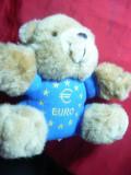 Ursulet firma Gerhardshofen -Mascota Monedei Euro 2000