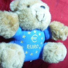 Ursulet firma Gerhardshofen -Mascota Monedei Euro 2000 - Jucarii plus
