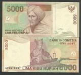 INDONEZIA INDONESIA 5000 5.000  RUPII RUPIAH 2001 , UNC [1] P-142a , necirculata