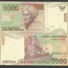 INDONEZIA INDONESIA 5000 5.000 RUPII RUPIAH 2001, UNC [1] P-142a, necirculata - bancnota asia