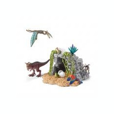 Set Figurine Schleich Set Dinozauri + Pestera - 42261 - Figurina Dinozauri