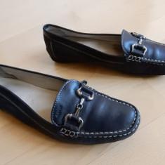 Pantofi Geox Respira din piele naturala; marime 39 1/2 - Pantof dama, Culoare: Din imagine, Marime: 39.5, Cu talpa joasa