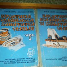 TUDOR MANTA\GHEORGHE STEFAN - BUCATARIA ROMANEASCA SI SANATATEA OMULUI Vol.1.2. - Carte Retete traditionale romanesti