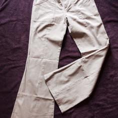 Pantaloni dama MEXX, mas. 40, Culoare: Bej, Lungi, Bumbac