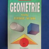 FLORICA BANU - GEOMETRIE PENTRU CLASELE VI - VIII - 1998 - Culegere Matematica
