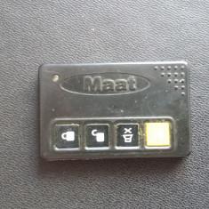 TELECOMANDA AUTO, MATT FRECVENTA 433, 92 MHz - MIL-STD-105E - Inchidere centralizata Auto