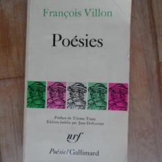 Poesies - Francois Villon, 532089 - Curs Limba Franceza