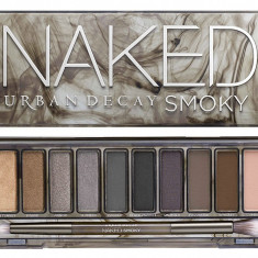 Trusa Machiaj Fard Make Up Pensule Urban Decay NAKED 1 2 3 4 SMOKY Pro - Trusa make up