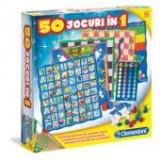 50 JOCURI IN 1 - Clementoni 60198 - Jocuri Board games