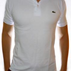 Tricou Lacoste - Tricou alb tricou barbat tricou rosu tricou barbat cod 80 - Tricou barbati, Marime: S, M, L, XL, XXL, Culoare: Albastru, Galben, Bleu, Bleumarin, Corai, Gri, Negru, Turcoaz, Maneca scurta