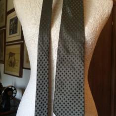 Cravata YVES SAINT LAURENT matase, Culoare: Verde