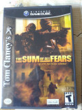 vand jocuri NINTENDO gamecubeI,NTSC, sistem american,SUM OF ALL FEARS