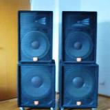 Boxe JBL 2 topuri(seturi) made in USA, JRX 100 si Sound Factor 15
