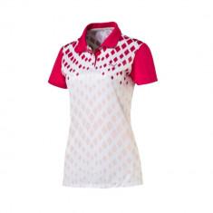 Tricou Polo Dama Puma Sport Golf Cod Produs E803 - Tricou dama, Marime: L, Culoare: Din imagine, Maneca scurta, Poliester