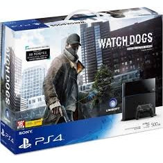 PS4 1Tb Watch Dogs Edition + The Order 1886, FIFA16 & Rainbow Six Siege - PlayStation 4 Sony