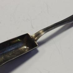 Lingurita Argint 800 tip Caus Veche executata manual Model deosebit, Tacamuri
