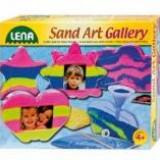 Rama foto joc cu nisip