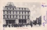 IASI , IASSY , HOTEL TRAIAN , PIATA UNIREA , CLASICA , CIRCULATA  APRILIE 1902