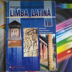 Limba Latina Manual pentru clasa a VIII a Doina Ionescu - Manual scolar Aramis, Clasa 8, Aramis, Limbi straine
