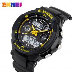 Ceas SUBACVATIC SKMEI S-Shock Sport Alarma Calendar ETC DUAL TIME | GARANTIE
