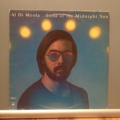 AL DI MEOLA - LAND OF THE MIDNIGHT SUN (1976/CBS/HOLLAND) - Vinil/JAZZ/Impecabil