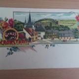 C.P. Litografie Brasov( Kronstadt) - Carte Postala Transilvania pana la 1904, Necirculata, Fotografie