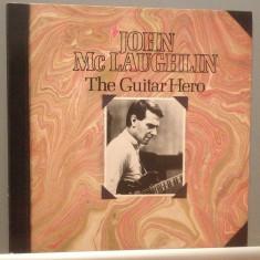 JOHN McLAUGHLIN - THE GUITAR HERO (1982/CBS REC/HOLLAND) - Vinil/JAZZ/IMPECABIL - Muzica Jazz Columbia