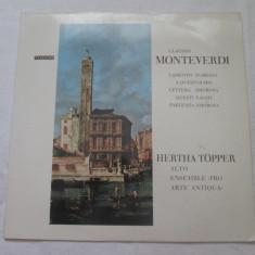 Claudio Monteverdi - Lamento D ´Ariana / A Quest ´Olmo _ vinyl, LP, Austria - Muzica Opera Altele, VINIL