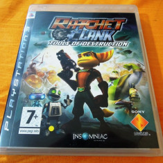 Joc Ratchet and Clank Tools of Destruction, PS3, original, alte sute de jocuri! - Jocuri PS3 Sony, Actiune, 12+, Single player