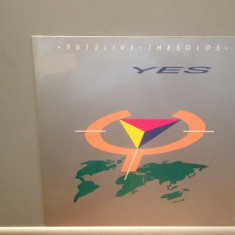 YES - 9012 LIVE- THE SOLOS (1985/ATLANTIC REC/ RFG) - Vinil/Impecabil/ROCK - Muzica Rock warner