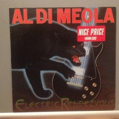 AL DI MEOLA - ELECTRIC RENDEZVOUS (1982/CBS REC/HOLLAND) - Vinil/JAZZ/Impecabil - Muzica Jazz Columbia