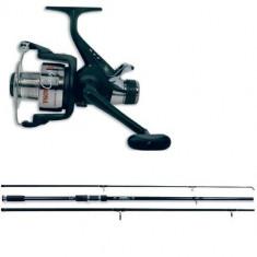 Combo Crap Lineaeffe Lanseta Carp Beater 3.60m 3buc + Mulineta Vigor Carp - Set pescuit