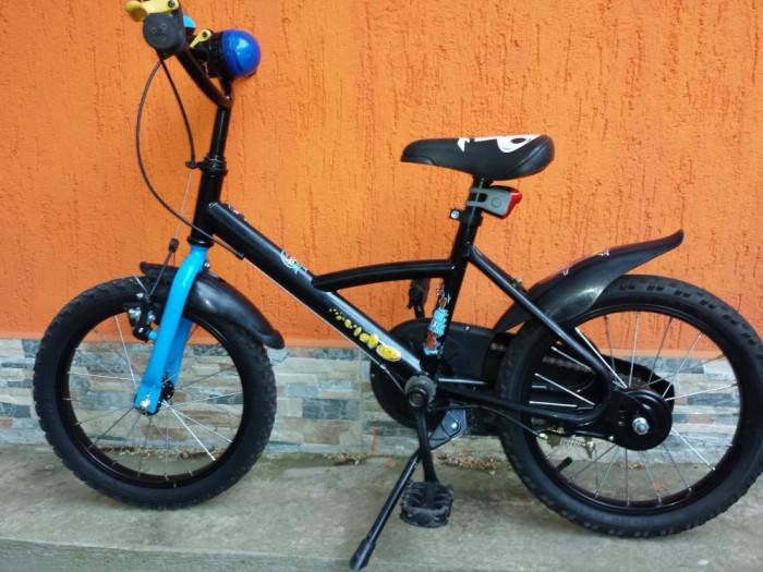 b58710d52 Bicicleta 16   Jack Pirabike Negru B TWIN Bicicleta 16