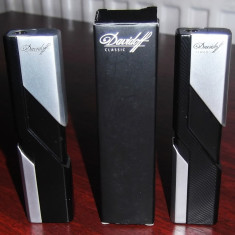 Bricheta metalica DAVIDOFF -antivint - model special de colectie - nou - Bricheta Zippo Alta, Tip: Moderna (1970 -acum)