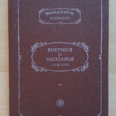 Boethius si Salvianus, Scrieri, PSB 72 - Carti ortodoxe