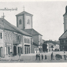 ABRUD, SALUTTARI DIN ABRUD, PIATA FERNCZ JOZSEF, CLASICA - Carte Postala Transilvania pana la 1904, Necirculata, Printata