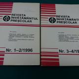 REVISTA ÎNVĂȚĂMÂNTUL PREȘCOLAR 1996/ NR. 1-2, 3-4