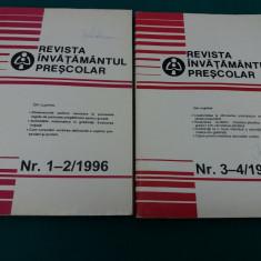 REVISTA ÎNVĂȚĂMÂNTUL PREȘCOLAR 1996/ NR. 1-2, 3-4 - Revista scolara