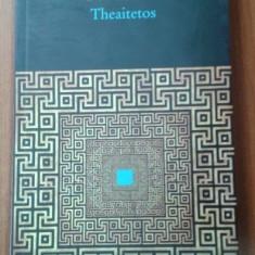 Theaitetos / Platon ; trad., interpretare si note de Andrei Cornea - Filosofie
