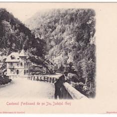 Romania, carte postala UPU necirculata: Cantonul Ferdinand de pe Jiu - Gorj - Carte Postala Oltenia pana la 1904, Fotografie