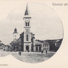 ABRUD, SALUTARI DIN ABRUD, CLASICA - Carte Postala Transilvania pana la 1904, Necirculata, Printata