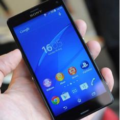 Vand Sony Xperia Z3 compact - Telefon mobil Sony, Neblocat